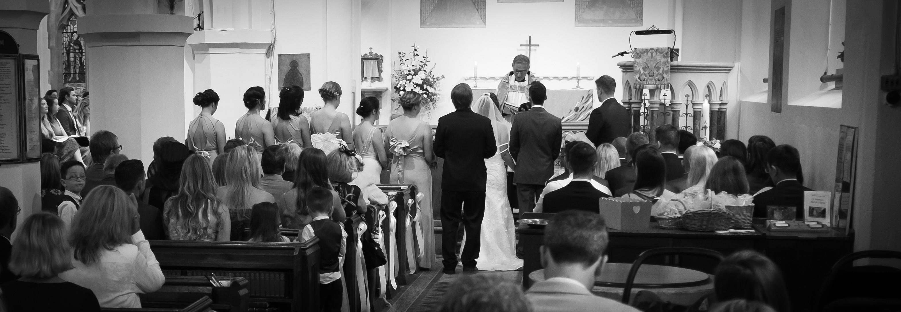 St Martins East Horsley Weddings