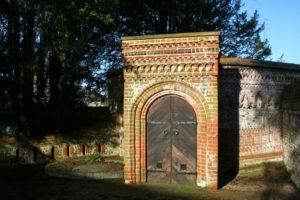 flint circular mausoleum
