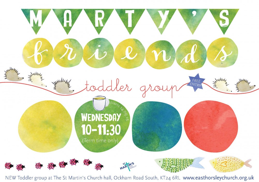 Toddler Group - Martys Friends